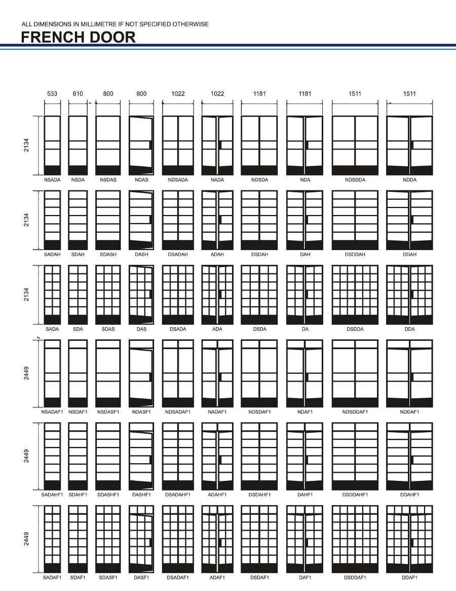 Steel Doors Schedules Yebo Windows Doors